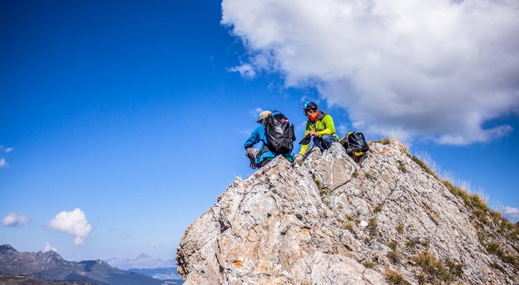 Via ferrata beaufort sport outdoor