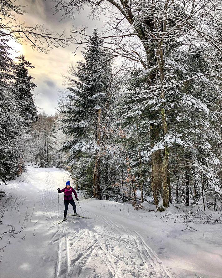 Ski fondloc